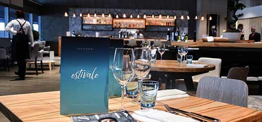 Bar Restaurant Estivale Intérieur
