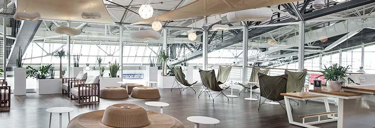 Salon Canopy ambiance