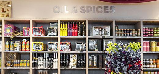 Boutique Saveurs de Provence Aéroport de Nice Huiles et épices