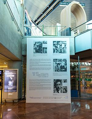 Exposition Giacometti Terminal 2