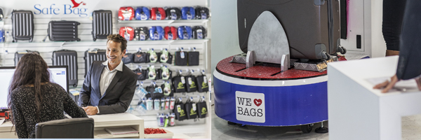 Consignes à bagages T2 / Centre de services