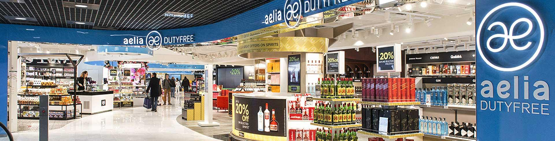 aelia duty free last minute alcools parfums terminal. Black Bedroom Furniture Sets. Home Design Ideas