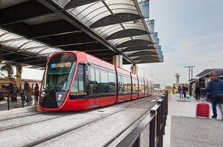 Tramway aéroport de Nice