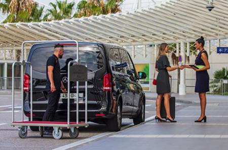 Accueil VIP au départ - Aéroport de Nice