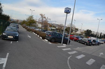 Parking P9  Aeroport nice